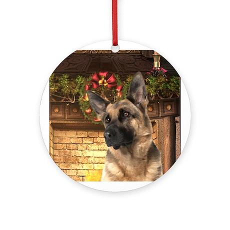 German Shepherd Holiday Ornament