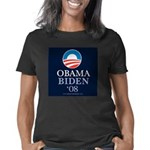 Obama_Biden_08_10x10 Women's Classic T-Shirt