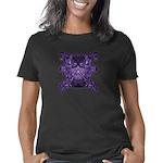 Purple Skull Women's Classic T-Shirt