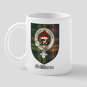 McWhirter Clan Crest Tartan Mug