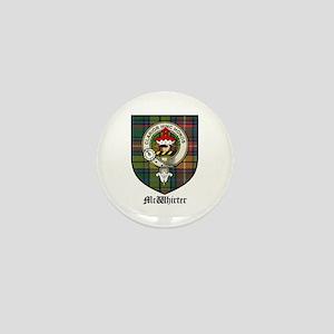 McWhirter Clan Crest Tartan Mini Button (10 pack)