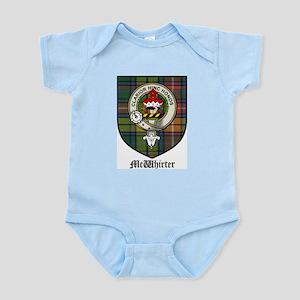 McWhirter Clan Crest Tartan Infant Creeper