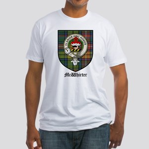 McWhirter Clan Crest Tartan Fitted T-Shirt