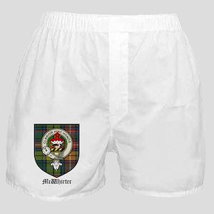 McWhirter Clan Crest Tartan Boxer Shorts