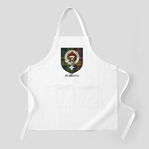 McWhirter Clan Crest Tartan BBQ Apron