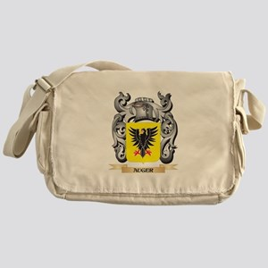 Auger Family Crest - Auger Coat of A Messenger Bag