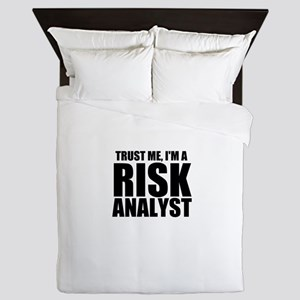 Trust Me, I'm A Risk Analyst Queen Duvet