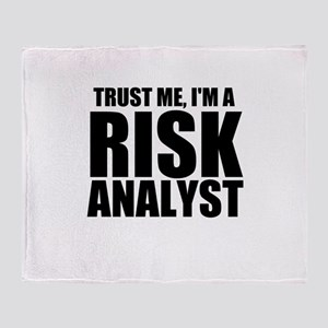 Trust Me, I'm A Risk Analyst Throw Blanket