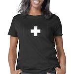 swiss2_blk Women's Classic T-Shirt