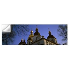 Low-angle view of Saint Sophia's Cathedral, Ukrain Wall Decal