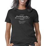 womensfencing_CPDark Women's Classic T-Shirt