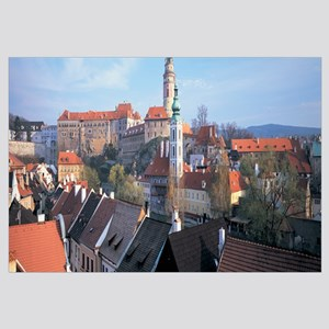 Town, Cesky Krumlov, South Bohemian Region, Czech