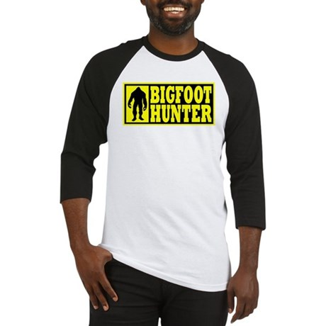 Finding Bigfoot - Hunter Baseball Jersey