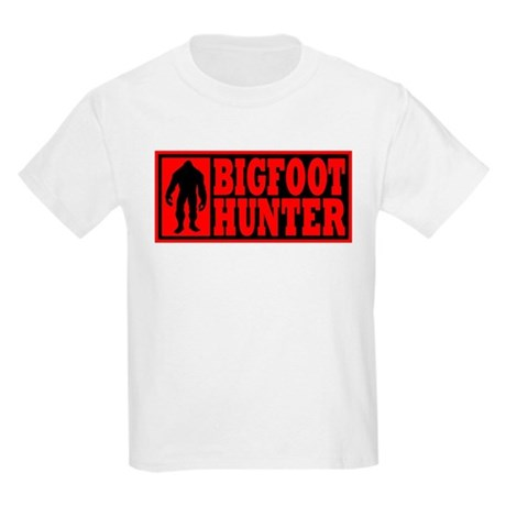 Finding Bigfoot - Hunter Kids Light T-Shirt
