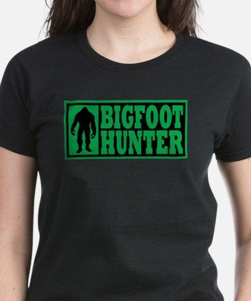 Finding Bigfoot - Hunter Women's Dark T-Shirt