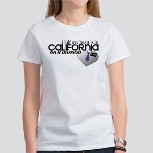 Half my heart is in Cali Tshirt