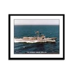 USS GEORGE PHILIP Framed Panel Print