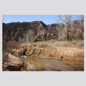 River passing through a landscape, Palo Duro Canyo