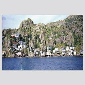 View from the harbor, St.John's, Newfoundland, Can