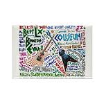SG Linguistics Concert Rectangle Magnet (100 pack)
