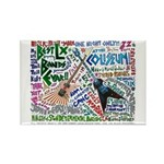 SG Linguistics Concert Rectangle Magnet (10 pack)