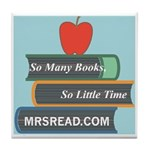 MrsRead.Com Tile Coaster