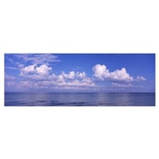 Clouds over the sea, Tampa Bay, Gulf Of Mexico, An Poster