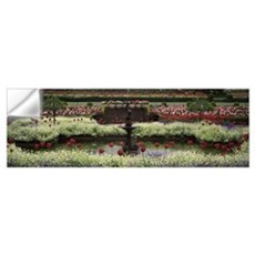 Flowers in a garden, Butchart Gardens, Brentwood B Wall Decal