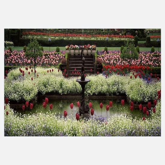 Flowers in a garden, Butchart Gardens, Brentwood B