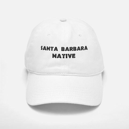 Santa Barbara Native Baseball Baseball Cap