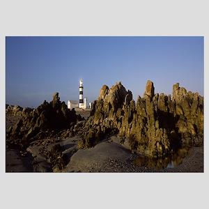 Lighthouse on the beach, Cape Recife Lighthouse, P