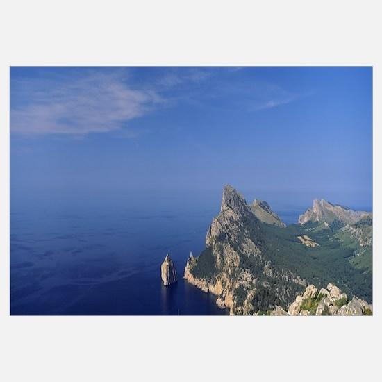 An island in the sea, Cap De Formentor, Majorca, B