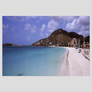 Shops on the beach, Philipsburg, Sint Maarten, Net