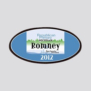 Romney Michigan Patches