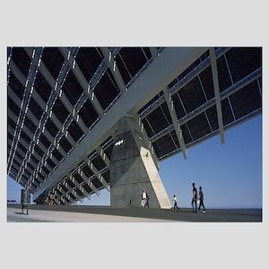 Huge solar panel, Forum Building, Barcelona, Catal