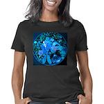 Blue Steampunk Dragonfly Women's Classic T-Shirt