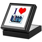 I Love Law Keepsake Box