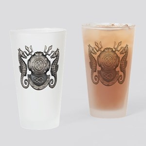 Navy Master Diver Drinking Glass