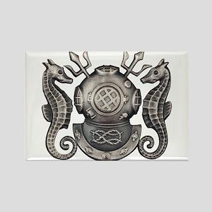 Navy Master Diver Rectangle Magnet