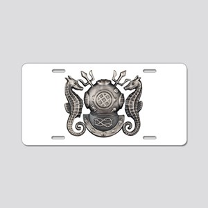 Navy Master Diver Aluminum License Plate