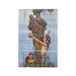WH Robinson's Little Mermaid Rectangle Magnet