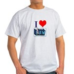 I love law Light T-Shirt
