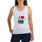 I love law Women's Tank Top