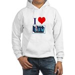I love law Hooded Sweatshirt