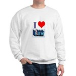 I love law Sweatshirt