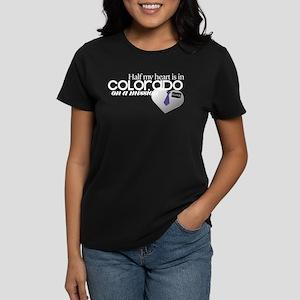 Half my heart is in Colorado Dark T-Shirt