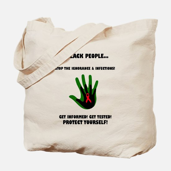 Cute Acquired immune deficiency syndrome Tote Bag