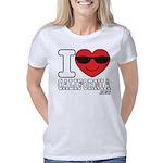 I Love California Women's Classic T-Shirt
