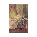 Dulac's Sleeping Beauty Rectangle Magnet (10 pack)