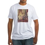 Dulac's Sleeping Beauty Fitted T-Shirt